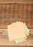 Coleção de vários papéis de nota fotos de stock royalty free