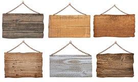 Sinal de madeira Imagem de Stock