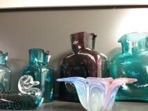 Coleção de vidro imagem de stock royalty free