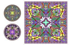 Coleção decorativa floral do teste padrão à impressão da tela Imagem de Stock Royalty Free