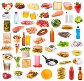 Coleção do alimento Foto de Stock