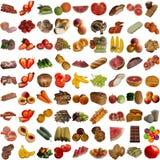 Coleção do alimento. Fotografia de Stock