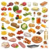 Coleção do alimento Fotos de Stock