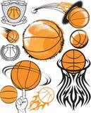 Coleção do basquetebol Imagens de Stock