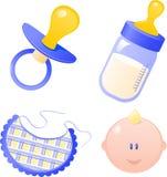 Coleção do bebé Fotos de Stock