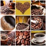 Coleção do café. Fotos de Stock Royalty Free