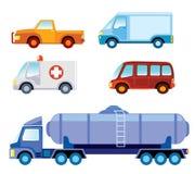 Coleção do carro do brinquedo Fotos de Stock Royalty Free
