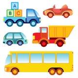 Coleção do carro do brinquedo ilustração do vetor