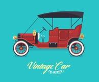 Coleção do carro do vintage Fotografia de Stock Royalty Free