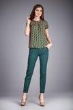 Coleção do catálogo da roupa ocasional para o estilo de vida Imagens de Stock Royalty Free