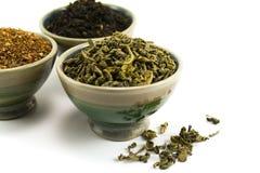 Coleção do chá Fotografia de Stock
