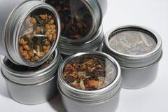 Coleção do chá Foto de Stock