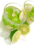 Coleção do cocktail - Caipirinha Imagens de Stock Royalty Free