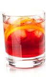 Coleção do cocktail do álcool - Negroni Fotos de Stock Royalty Free