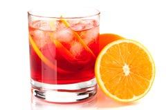 Coleção do cocktail do álcool - Negroni Foto de Stock