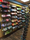 Coleção do divertimento do skate fotos de stock