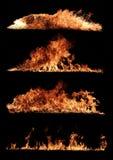 Coleção do fogo Foto de Stock Royalty Free