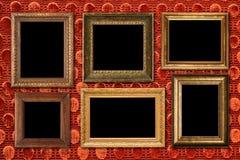 Coleção do frame da antiguidade. Foto de Stock Royalty Free