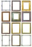 Coleção do frame de madeira da imagem da foto Fotografia de Stock Royalty Free
