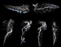 Coleção do fumo Imagens de Stock