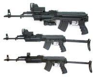 Coleção do Kalashnikov - retratos grandes do tamanho Imagem de Stock Royalty Free