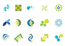 Coleção do logotipo Fotos de Stock Royalty Free