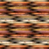 Coleção do material de madeira instalado do assoalho das pranchas Foto de Stock