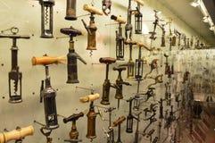 Coleção do museu do Corkscrew em Tessalónica fotos de stock royalty free