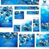 Coleção do Natal Fotografia de Stock