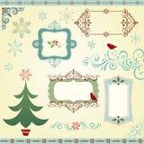 Coleção do Natal Imagens de Stock