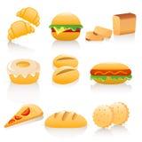 Coleção do pão Imagem de Stock Royalty Free