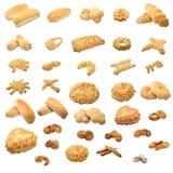 Coleção do pão Fotos de Stock Royalty Free