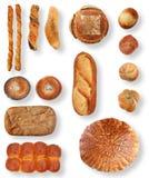 Coleção do pão imagens de stock royalty free