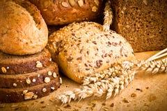 Coleção do pão cozido Imagem de Stock Royalty Free