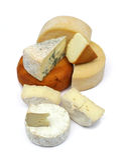 Coleção do queijo Foto de Stock Royalty Free