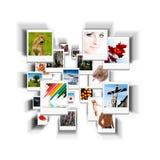 Coleção do retrato Fotos de Stock