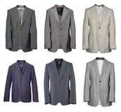 Coleção do terno dos homens Fotos de Stock