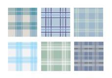 Coleção do teste padrão sem emenda do tartan tradicional Imagem de Stock Royalty Free
