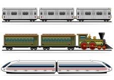 Coleção do transporte Railway Ilustração Royalty Free