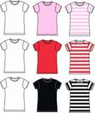 Coleção do Tshirt Imagem de Stock Royalty Free