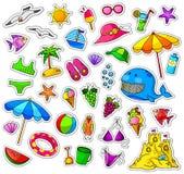 Coleção do verão Imagens de Stock