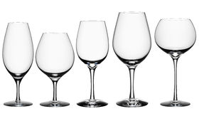 Coleção do vidro de cocktail Imagens de Stock Royalty Free