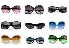 Coleção dos óculos de sol   imagem de stock royalty free