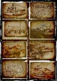 Coleção dos barcos ilustração do vetor