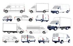 Coleção dos carros ilustração royalty free