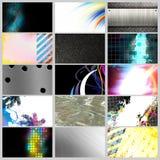 Coleção dos cartões Imagens de Stock