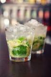Coleção dos cocktail - Caipirinha Imagem de Stock Royalty Free