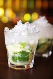 Coleção dos cocktail - Caipirinha Fotografia de Stock Royalty Free