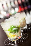 Coleção dos cocktail - Caipirinha Foto de Stock Royalty Free