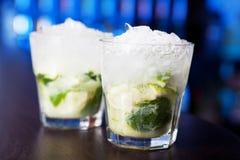 Coleção dos cocktail - Caipirinha Imagens de Stock Royalty Free